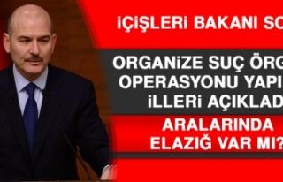 Bakan Soylu Organize Örgütü Operasyonu Yapılan...