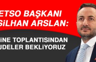 Başkan Arslan: Kabine Toplantısından Müjdeler...