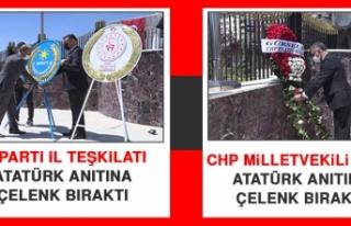 CHP Milletvekili Erol ve İYİ Parti İl Teşkilatı,...