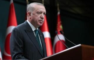 Cumhurbaşkanı Erdoğan: Kıbrıs'ta müzakere...