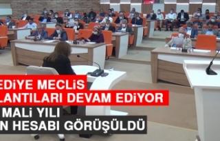 Elazığ Belediye Meclisi'nde 2020 Mali Yılı Kesin...