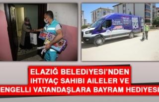 Elazığ Belediyesi'nden İhtiyaç Sahibi Aileler...