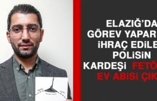 Elazığ'da Görev Yaperken İhraç Edilen Polisin...