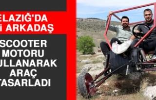 Elazığ'da İki Arkadaş Scooter Motoru ile...