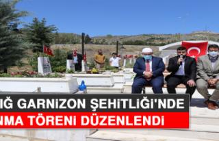 Elazığ Garnizon Şehitliği'nde Anma Töreni...