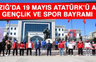 Elazığ'da 19 Mayıs Atatürk'ü Anma, Gençlik...