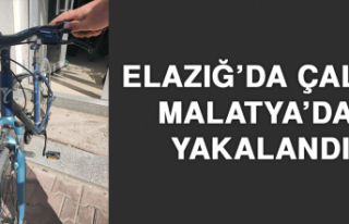 Elazığ'da Çaldı Malatya'da Yakalandı