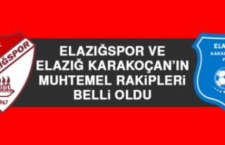 Elazığspor ve Elazığ Karakoçan'ın Muhtemel...