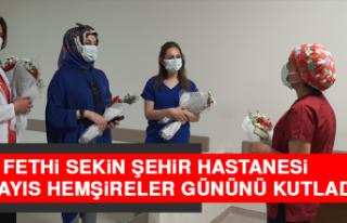 Fethi Sekin Şehir Hastanesi 12 Mayıs Hemşireler...