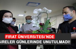 Fırat Üniversitesi'nde Hemşireler, Günlerinde...