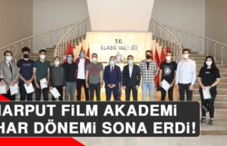 Harput Film Akademi Bahar Dönemi Sona Erdi