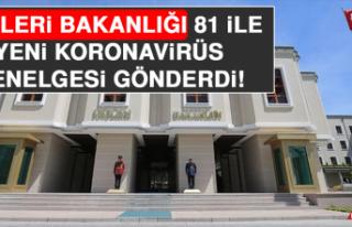 İçişleri Bakanlığı 81 İle Kademeli Normalleşme...