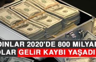 Kadınlar 2020'de 800 Milyar Dolar Gelir Kaybı...