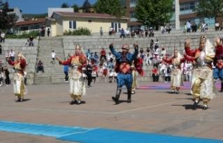 Karabük'te 19 Mayıs'ın 102. yılı çeşitli...