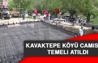 Kavaktepe Köyü Camisinin Temeli Atıldı