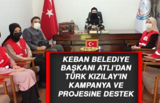 Başkan Atlı'dan Türk Kızılay'ın Kampanya...