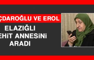 Kılıçdaroğlu ve Erol,Elazığlı Şehit Annesini...