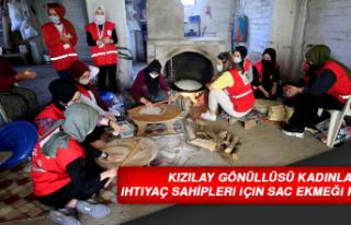 Kızılay Gönüllüsü Kadınlar İhtiyaç Sahipleri...