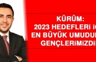 Kürüm: 2023 Hedefleri İçin En Büyük Umudumuz,...