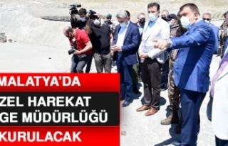 Malatya'da Özel Harekat Bölge Müdürlüğü...