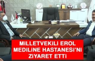 Milletvekili Erol Hastaneyi Ziyaret Etti