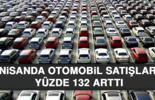 Nisanda Otomobil Satışları Yüzde 132 Arttı