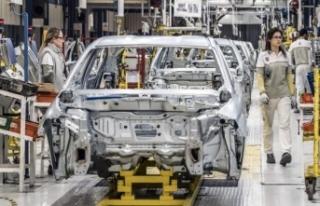 Otomotiv sektöründe üretim ilk çeyrekte yüzde...
