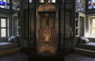 Padişahların 'Arife Tahtı' Topkapı Sarayı'nda...