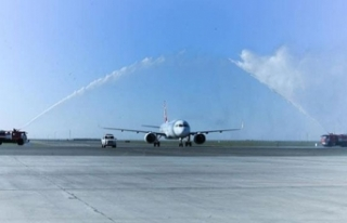 THY'den Türkistan'a ilk uçuş