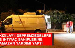Türk Kızılay'ı Depremzedelere ve İhtiyaç Sahiplerine...