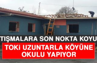 Uzuntarla Köyü'ne Okul Yapımı İçin Son Nokta...