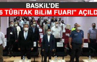 """Baskil'de """"4006 TÜBİTAK Bilim Fuarı""""..."""