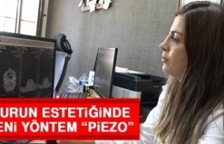 """Burun Estetiğinde Yeni Yöntem """"Piezo"""""""