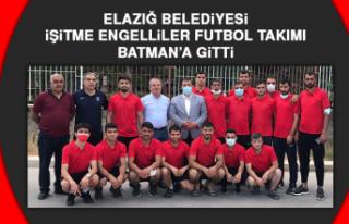 Elazığ Belediyesi İşitme Engelliler Futbol Takımı,...