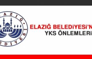 Elazığ Belediyesi'nden YKS Önlemleri