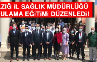 Elazığ İl Sağlık Müdürlüğü Uygulama Eğitimi...