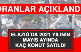 Elazığ'da 2021 Yılının Mayıs Ayında Kaç...