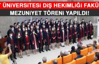Fırat Üniversitesi Diş Hekimliği Fakültesi Mezuniyet...