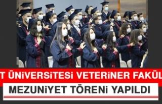 Fırat Üniversitesi Veteriner Fakültesi Mezuniyet...