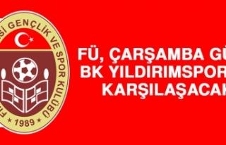 FÜ, Çarşamba Günü BK Yıldırımspor'la Karşılaşacak