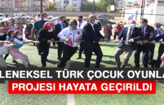 """""""Geleneksel Türk Çocuk Oyunları"""" Projesi Hayata..."""