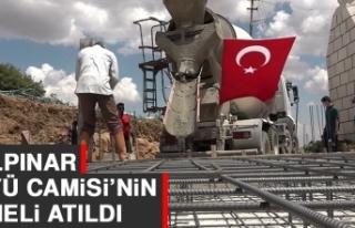 Gülpınar Köyü Camisi'nin Temeli Atıldı