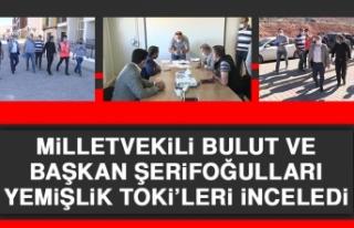 Milletvekili Bulut ve Başkan Şerifoğulları Yemişlik...