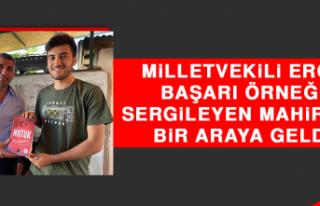 Milletvekili Erol, Başarı Örneği Sergileyen Mahir...