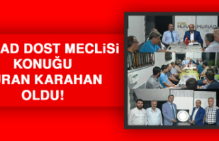MÜSİAD Dost Meclisi Konuğu Turan Karahan Oldu