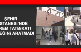 Şehir Hastanesi'nde Deprem Tatbikatı Gerçeğini...