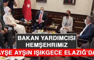 Tarım ve Orman Bakan Yardımcısı Hemşehrimiz Ayşe...