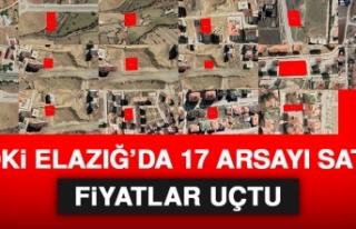 TOKİ Elazığ'da 17 Arsayı Sattı! Fiyatlar...