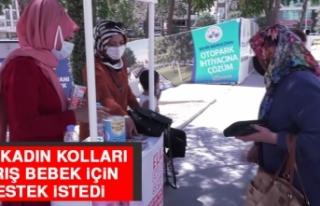 CHP Kadın Kolları, Barış Bebek İçin Destek İstedi