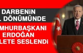 Cumhurbaşkanı Erdoğan Millete Seslendi